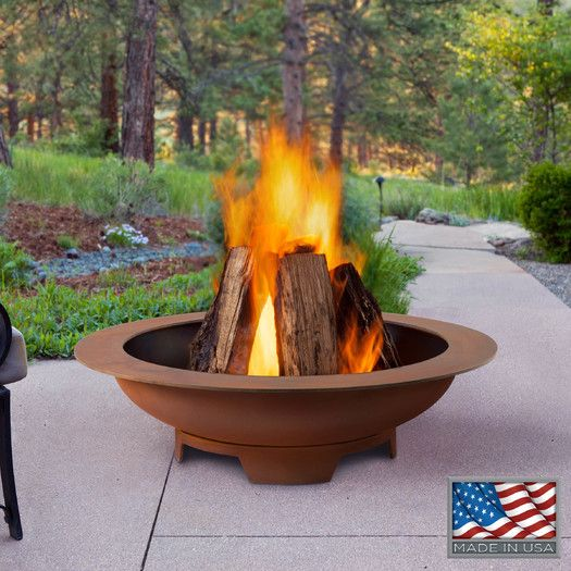 Real Flame Limited Atlas Wood Burning Fire Pit