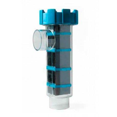 Célula electrodo BSV RP 50-70 Referencia:  RP50/3 Células electrodos para equipos de electrólisis salina BSV:  • RP50/3 (50 g/h) • RP70/3 (70 g/h)
