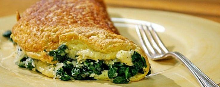 Omelette de Espinaca y Mozzarella