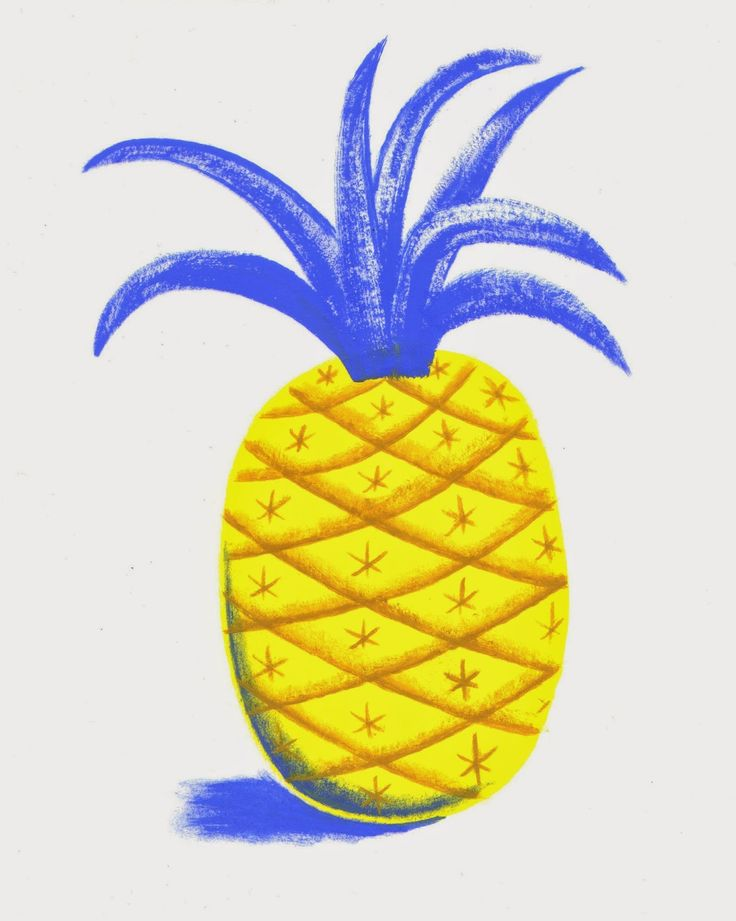 Pineapple number 1. Sophie Oiseau 2014.