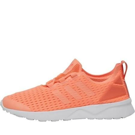 Adidas Originals Womens ZX Flux ADV Verve Trainers Gym Ladies Shoes Orange - UK 4.5
