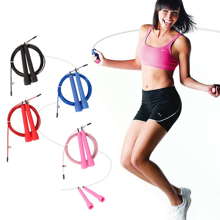 fitness crossfit skipping ropes speed jump rope jump TPU skipping rope handle gym training sports exercise for free shipping