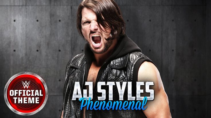AJ Styles - Phenomenal (Official Theme) - YouTube