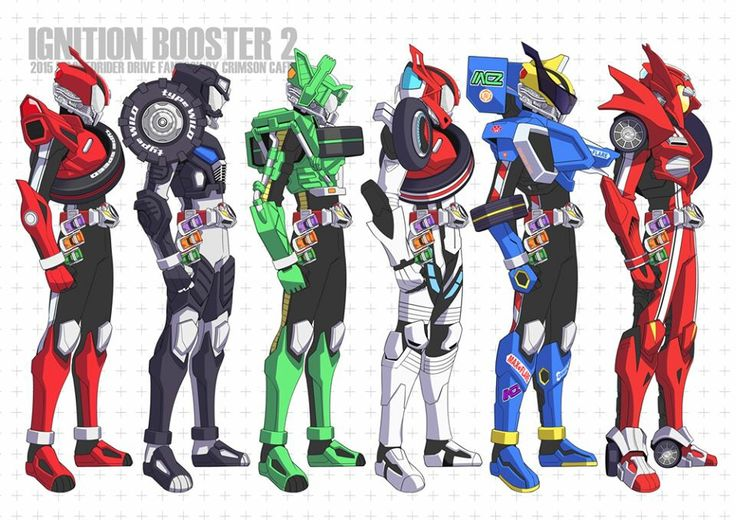 Kamen Rider Drive all form