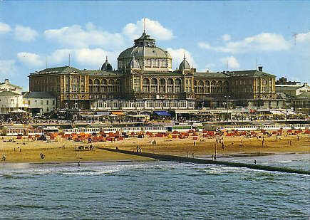 Den Haag: Kurhaus Scheveningen, built in 1885 by Friedrich Henkenhaf and Friedrich Ebert as a Grand Hotel.