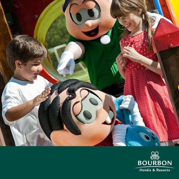 Carnaval com a Turma da Mônica é nos hotéis do Bourbon!