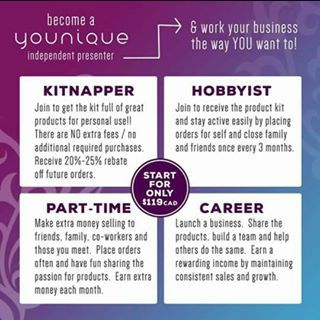 Join Younique today, it's a win win, £133 of makeup for £69. For all the info go to www.youniqueproducts.com/clarecush and click Join xx