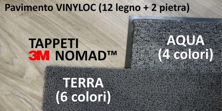 Pavimenti in PVC Vinyloc e Tappeti 3M