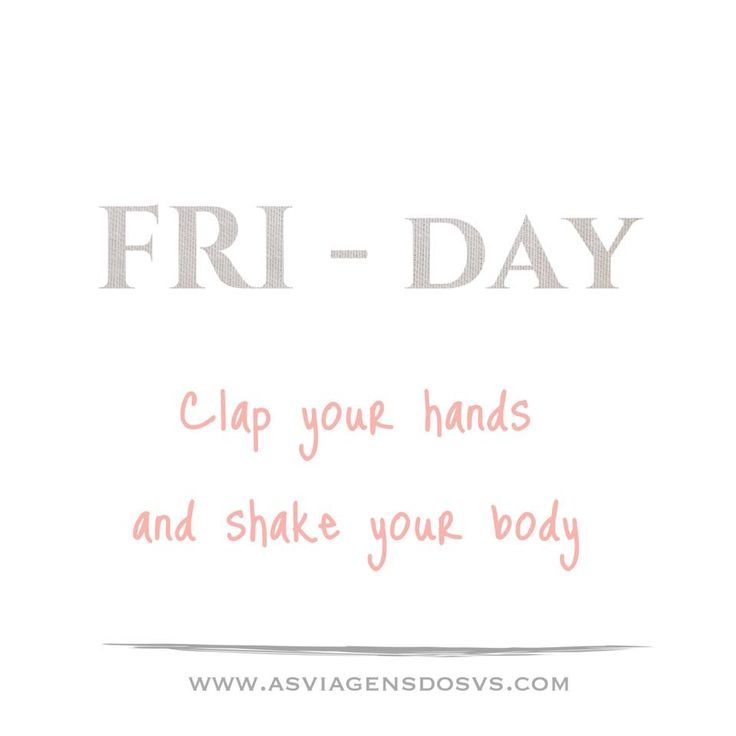 Friday mood