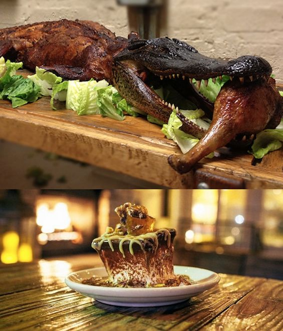 screw turkey this restaurant serves an entire alligator for thanksgiving chicago. Black Bedroom Furniture Sets. Home Design Ideas