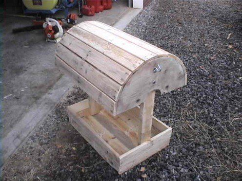 Looking for a cheap saddle stand to properly maintain your valuable saddle?  Why not build your own saddle stand out of reclaimed pallet wood for under $20?