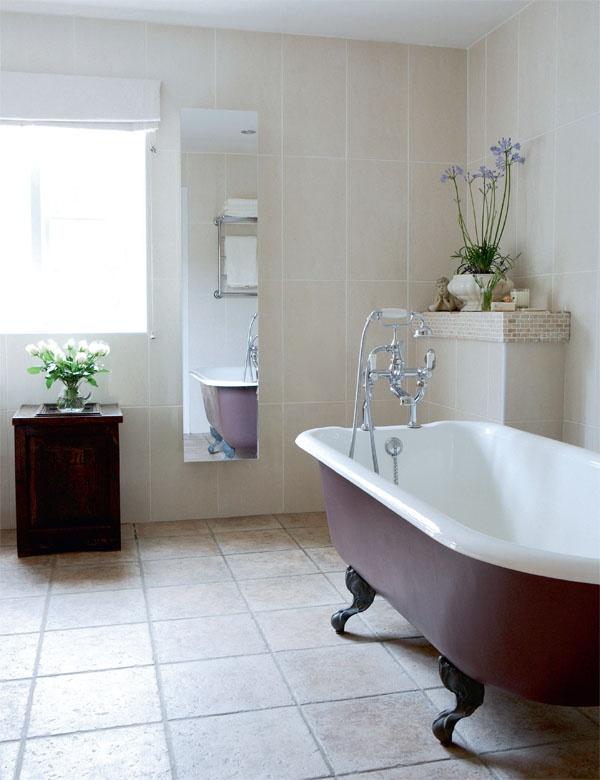 Natural stone bathroom | Period Living