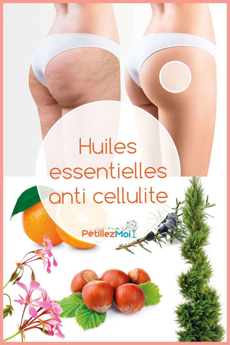 Soin anti cellulite aux huiles essentielles