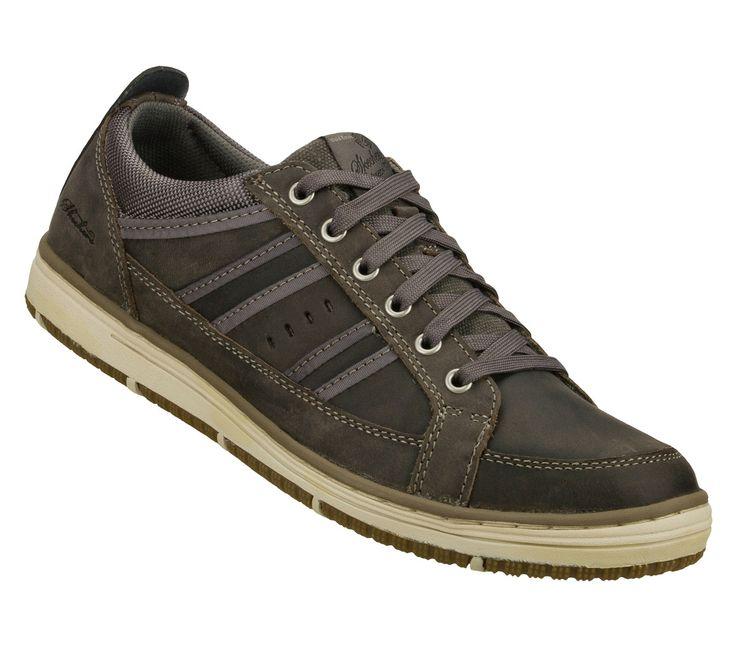 Skechers Men S Hamal Shoes Charcoal Size