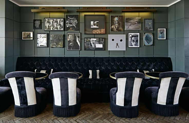 The exquisite style at Soho House #Berlin #hotel in #Germany