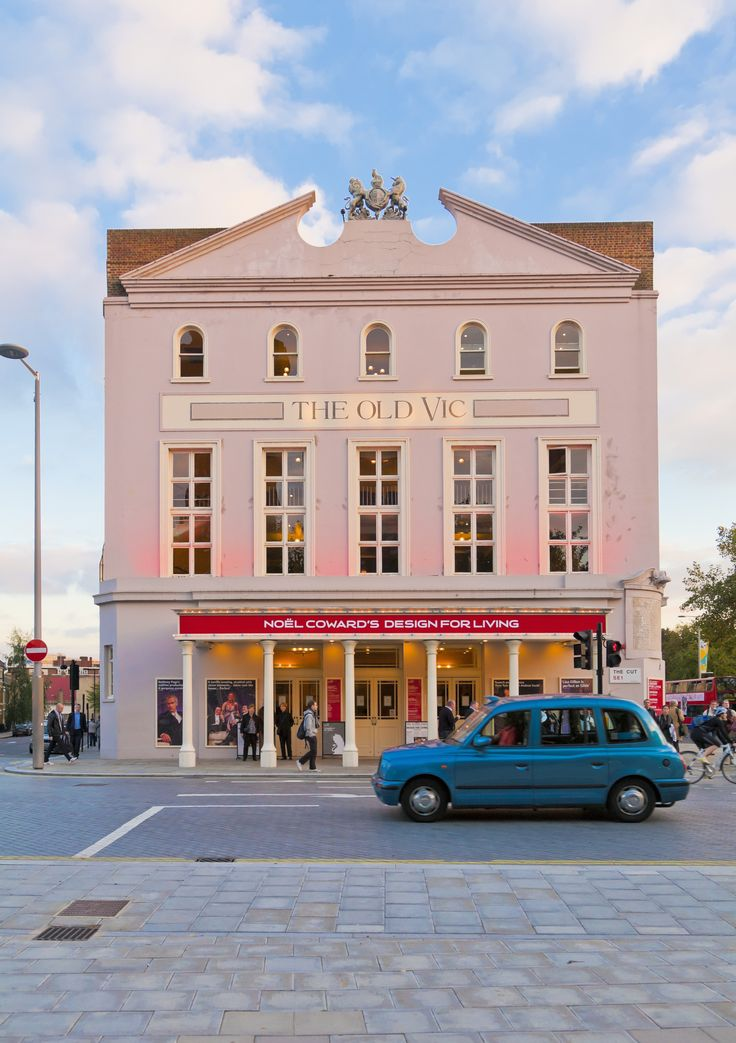 The Old Vic Theatre exterior, Waterloo, London http://lovewall ...