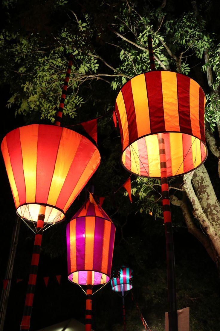 Kez Howell Circus Lights Circadian Woodford Folk Festival