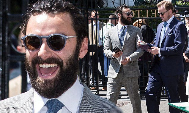 Aidan Turner sizzles at Wimbledon 2016 as BBC confirm Poldark will be back | Daily Mail Online