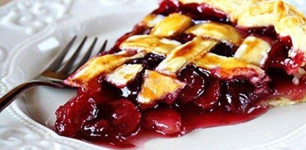 пирог с вишнями