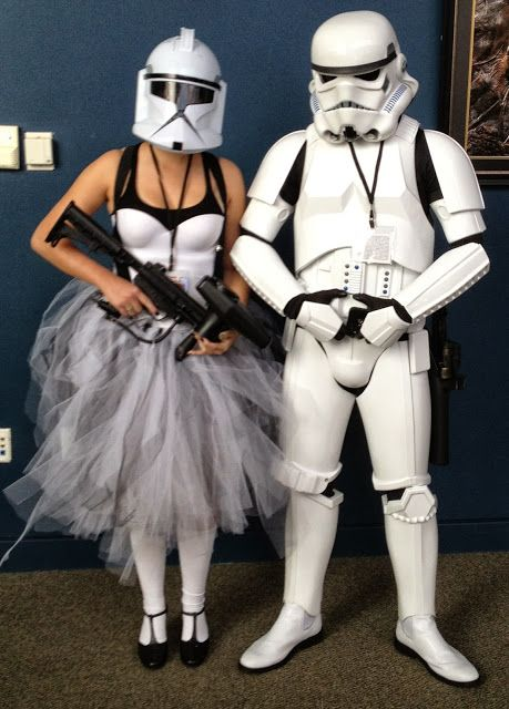 Storm Trooper Husband and Wife Costume