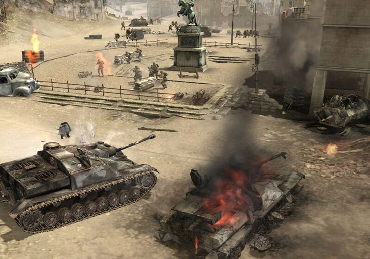 'Company of Heroes' was the perfect real-time strategy game