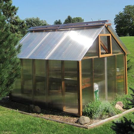 Diy Multiwall Polycarbonate Hobby Greenhouse Do It