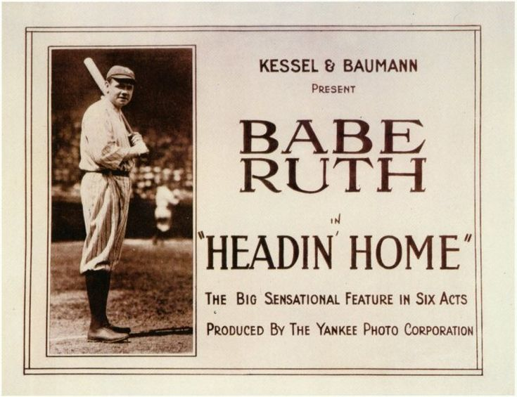 Headin Home is the fictionalized version of how Babe Ruth became Babe Ruth. Of course, as in most propaganda/promotion videos about a person or organization, none of it is really true. 1920 was an ...