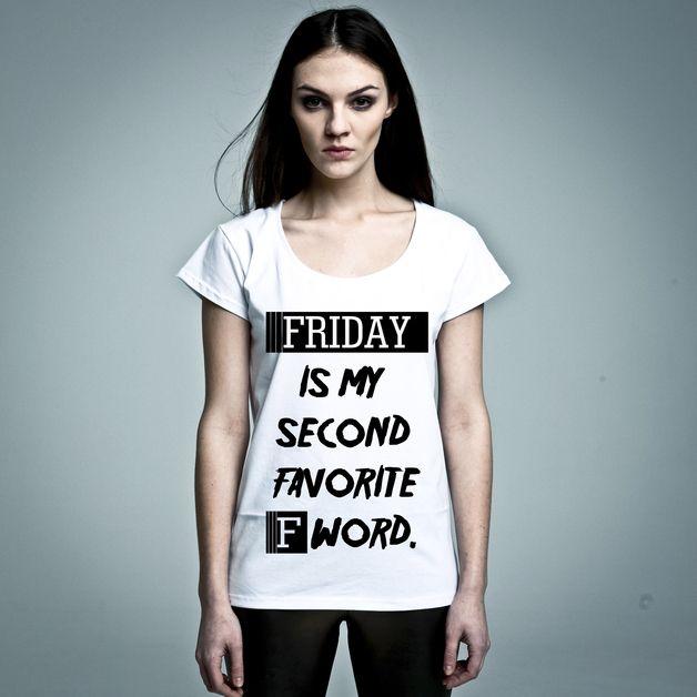 T-Shirt Friday F-Word // t-shirt friday by Nohate Poland via DaWanda.com