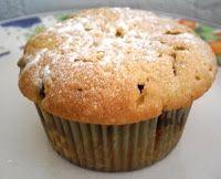 Heerlijke, friszoete cakejes. Door het gebruik van bloem in plaats van zelfrijzend bakmeel bevatten deze cakejes nauwelijks natrium.