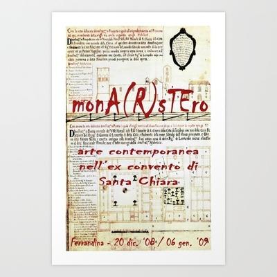 monastero Art Print by Francesco Mestria - $12.48