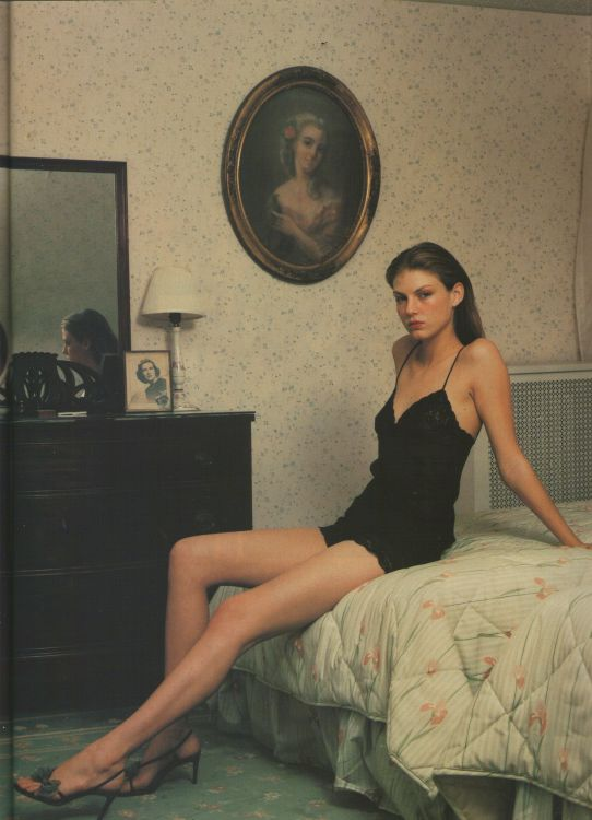 Angela Lindvall The Face February 2000 | Angela's Secrets | Mario Sorrenti
