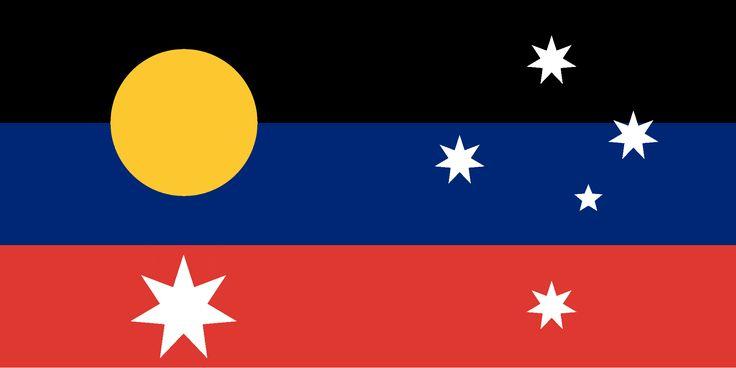 Australian Flag Proposal _ Design: CannonballCat (2015)