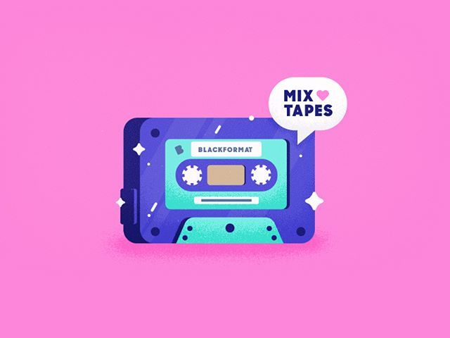 Mixtapes by @mudshock . . . #logo #logodesign #branding #brandidentity #graphicdesign #graphicdesigner #creative #instagood #picoftheday #designinspiration #creativity #brandlogo #greatlogo #designer #design #brand #illustrator #illustration #photoshop #adobe #photooftheday #gfxmob