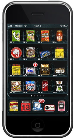 Vending Machine™ Theme for iPhone #iphone #ipod #theme #winterboard #jailbreak