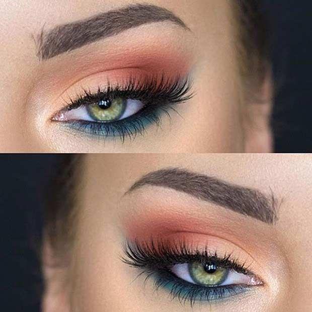 31 pretty eye makeup looks for green eyes stayglam beauty rh pinterest com