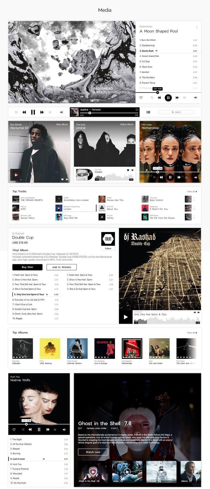 UI8 — Products — Darkmoon UI Kit