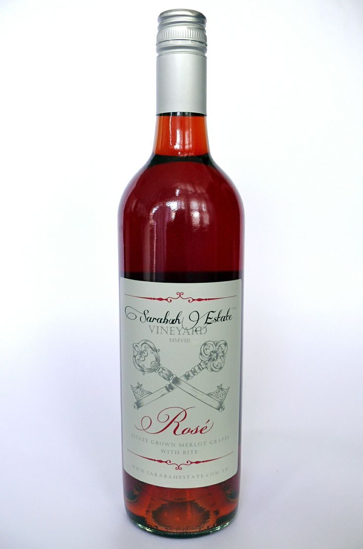 Exquisite Rosé 2008 - from Sarabah Estate Vineyard, Queensland, Australia #topseller Only $24.95 per bottle!