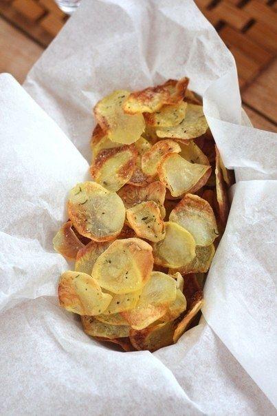 Как приготовить картофельные чипсы - рецепт, ингридиенты и фотографии