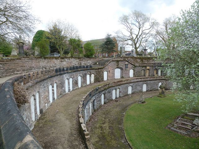 "Warstone Lane Cemetery: ""catacombs"" ~ Birmingham, UK"