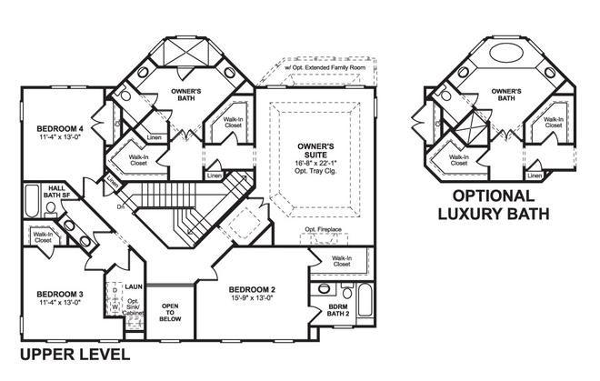 K Hovnanian Floor Plans: K. Hovnanian Fairbrooke Model
