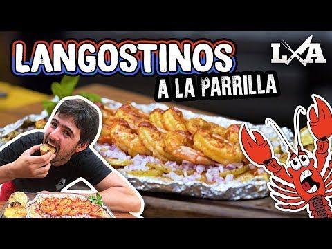 (1) Langostinos a la Parrilla con Papas - Receta de Locos X el Asado - YouTube