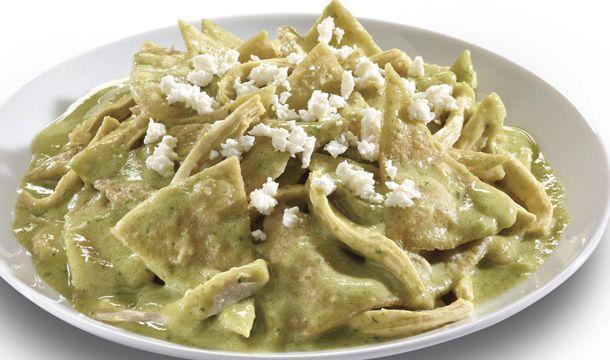 Recetas Nestlé - Chilaquiles verdes con pollo - Recetas Nestlé - 8414