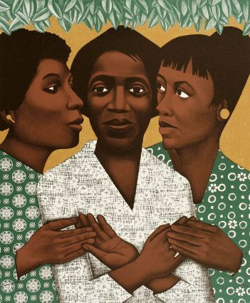 Elizabeth Catlett Mora was an American-born Mexican sculptor and printmaker and all around Renaissance woman. Catlett is best known for the black, expressionistic sculptures and prints she produced during the 1960s and 1970s.