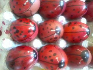 """""""ΠΕΡΙ... ΝΗΠΙΑΓΩΓΩΝ"""" : Αβγά - Πασχαλίτσες"""