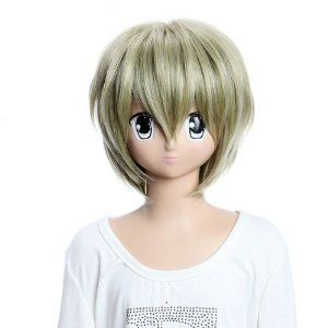 SureWells Cosplay Wigs Full lace wig Home Tutor Hitman Reborn Wigs Short Cosplay Wigs Party Wigs Costume Wigs by SureWells. $23.89. Hair Style: Cosplay Wigs. Material : High temperature wire. Package:1 PCS. Color : AS PICTURE ,Color Shown: (Color may vary by monitor.). Length :about 12.2 inch. Brand: SureWells Recommended features: 1. Super natural wig , suitable for almost every lady aged from teenagers to adults. 2. With the high technology, Miss Beauty wig serie...