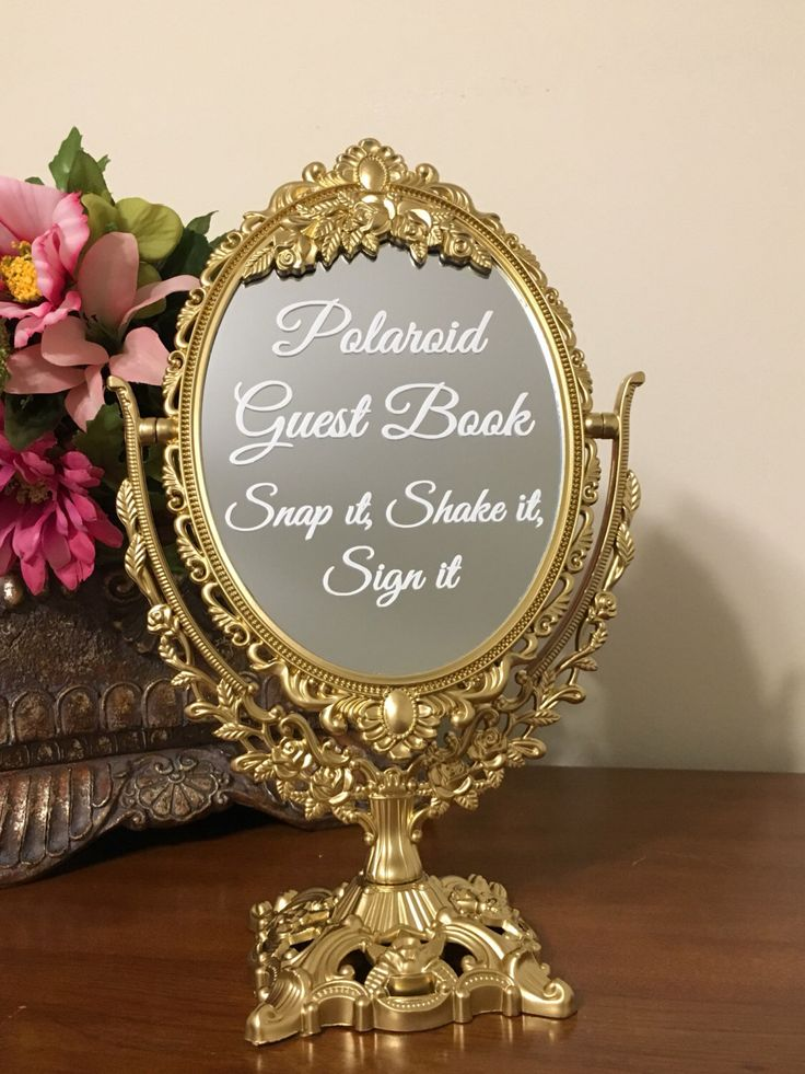 Polaroid Guest Book Snap it, Shake it, Sign it ❤❤