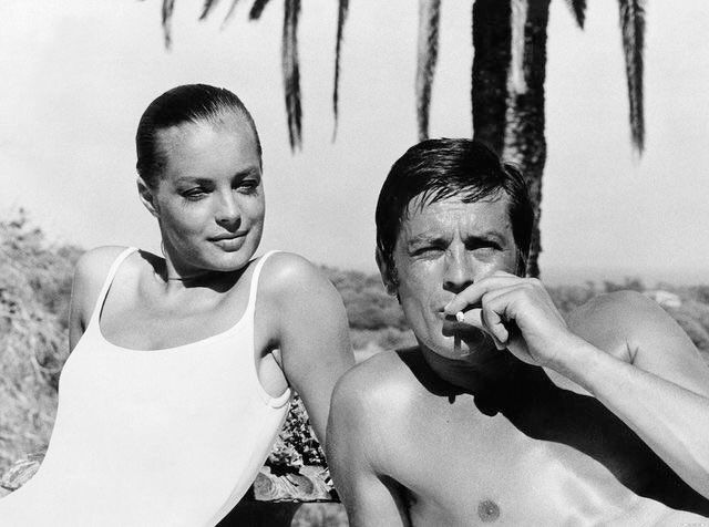 """Le Cinéma Retweeted Rose Camille: """"I learned some words in German for you: Ich liebe dich, meine Liebe."""" — #AlainDelon to #RomySchneider (La Piscine, 1969) cc @lecinema_"""