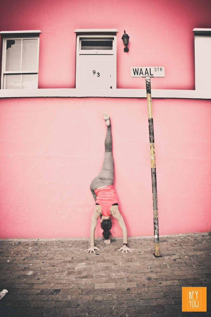 Urdhva Prasarita Eka Padasana with Justine Barnes.  Yoga photography by Nora Wendel from HEY YOGI.  Cape Town 2015