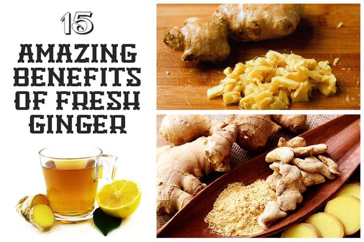 15 Amazing Benefits of Fresh Ginger - including appetite stimulant!