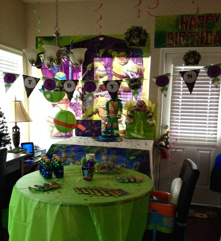 Ninja Turtle Decorations | Teenage Mutant Ninja Turtles Party Ideas |  Pinterest | Ninja Turtle Decorations, Turtle Decorations And Ninja Turtles.